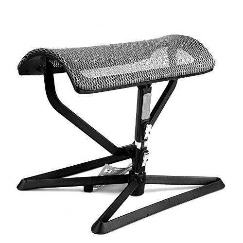 LJHA Tabouret pliable Tabouret mobile créatif/tabouret de sofa de salon/tabouret pliable de repos de bureau chaise patchwork (Couleur : Gris)