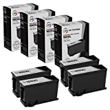 LD Compatible Ink Cartridge Replacement for Lexmark 100XL 14N1068 High Yield (Black, 4-Pack)