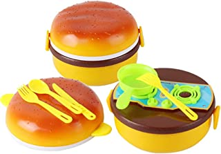 Coxeer Kitchen Play Set Creative Pretend Play Toy Cookware Set Toy for Children