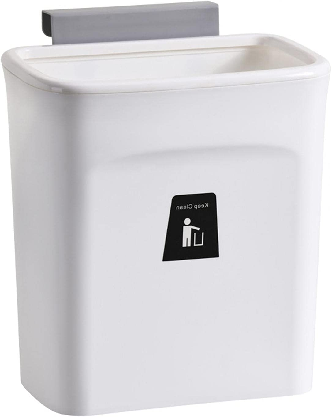 Be super welcome YOOSA Garbage Can Kitchen 2 6.5L Compartments Miami Mall Bathroom Lid with