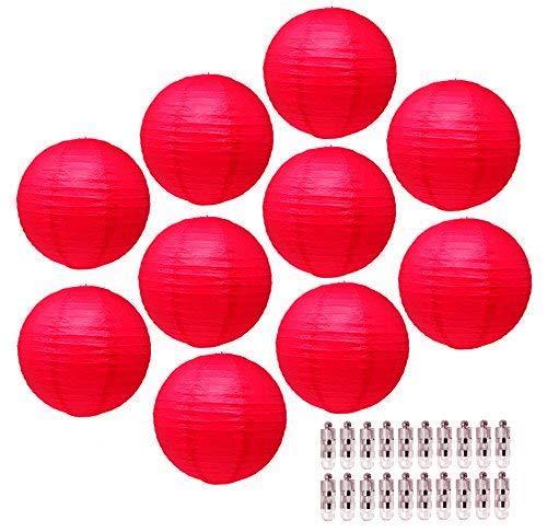 farolillo rojo de la marca Mudra Crafts