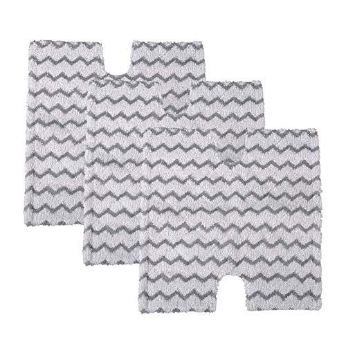 WDGNY Reinigungszubehör Dampfreiniger Pads Ersatz passend für Shark Lift-Away & Genius Steam Pocket Mop S3973D S6002 S5003D S6001 S6003 S5001 S5002 S3973WM Bürstenset
