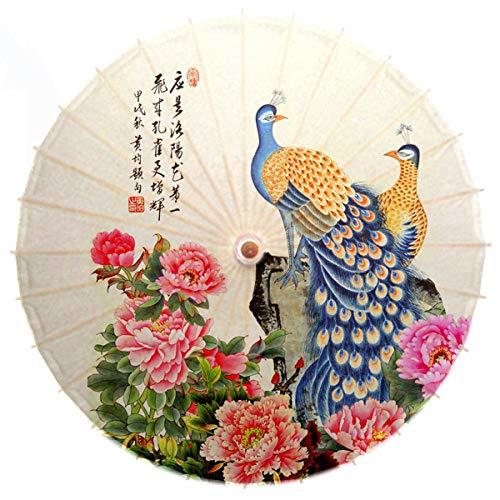 Ombrelli per decorazioni nozze Ombrello fatto a mano per la decorazione di ombrelli in carta antipioggia foto ombrello per danza @A
