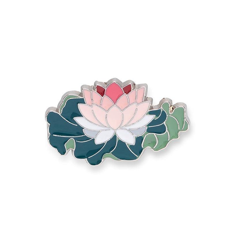 The Metropolitan Museum of Art Enamel Lotus Flower Pin - Backpack and Lapel Novelty Brooch