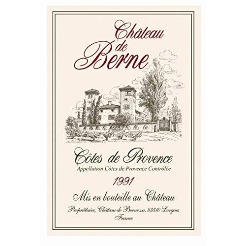 Torchons et Bouchons - Torchon château de berne côtes de provence