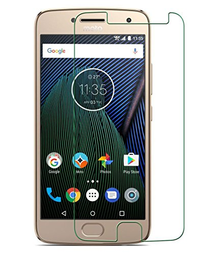 For Motorola MOTO G5s+ Premium Screen Protector [3D Touch Compatable - Tempered Glass][0.2mm Ultra Thin 9H Hardness 2.5D Curve Round Edge] for Motorola Moto G5s+/Moto G5s Plus