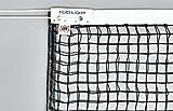 ●材質 ネット:ポリエチレン無結節・220T/88本 、コード:ダイニーマ、白帯:ポリエステル ●寸法:幅106cm×長さ12.7m、網目3.5cm ●ネットカラー:黒 ●ダイニーマコード15.2m ●センターベルト付 ●上部ダブルネット(サイドポール付) ●日本テニス協会推薦品: (注1)テニスネットを安全にお使いいただくために、ご使用前に必ずワイヤーコードの点検を行い、ササクレ・切れ等の異状の無いことを確認の上でご使用ください (注2)イザナスコードについて 1、ささくれによる危険がなく、安...