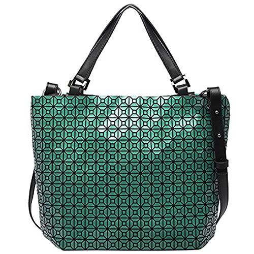 QIANJINGCQ Moda todo-fósforo personalidad silicona bolso femenino diseño de nicho bolso de mensajero de un solo hombro bolso simple temperamento gran capacidad debajo del brazo