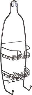 InterDesign Neo Bathroom Shower Caddy for Shampoo, Conditioner, Soap - Small, Bronze