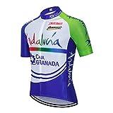 Ciclismo Maillot Hombres Ropa de Bicicleta Manga Corta, Camisa Ciclismo MTB