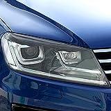 HLLebw Auto Scheinwerfer Tönungsfolie Auto Folie Für Touareg 7P CR 2011 Present