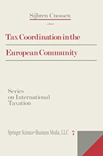 Tax Coordination in the European Community