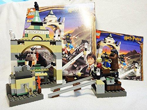 LEGO 4714 Harry Potter - Banco Gringotts (250 Piezas y 4 Figuras)