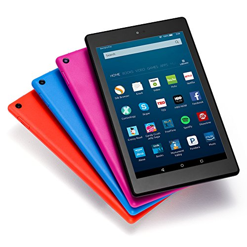 "Fire HD 8 Tablet with Alexa, 8"" HD Display, 16 GB, Black - with Special Offers (Previous Generation - 6th)"