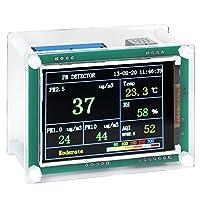 "PM2.5検出器、A1通信車両環境モニター、ファン付きインテリジェンスデジタルPM2.5検出器2.8""カーホーム用1000台ディスプレイ"