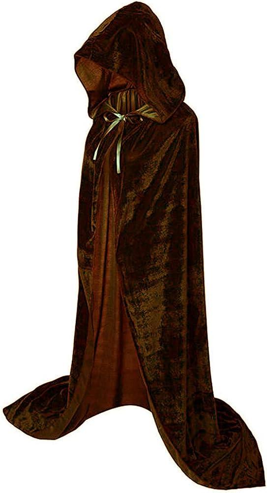 kaitniris Unisex Hooded Cloak Long Cape Hal Popular brand in the world Finally popular brand Velvet Christmas for