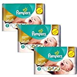 Couches Pampers - Taille 2 new baby premium care - 176 couches bébé