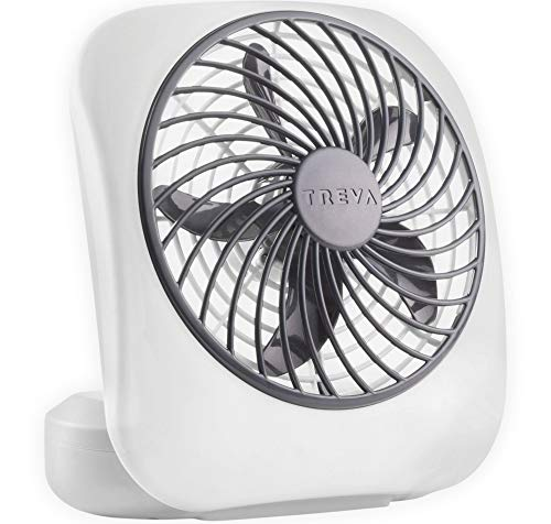 O2COOL 5' Portable Fan Battery Powered, 1 Unit, Grey