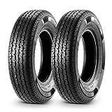 Set of 2 Trailer Tire ST175/80R13 ST175 80R13 8 Ply Load Range D Radial Heavy Duty 97/93L