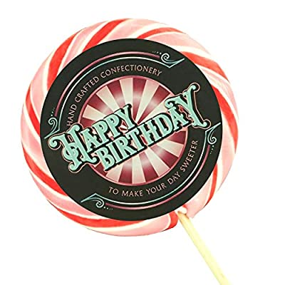wendy's candies - giant swirl lolly - pink gin lollipop - handcrafted confectionery - delicious sweet - candy - happy birthday gift - ref obpg Wendy's Candies – Giant Swirl Lolly – Pink Gin Lollipop – Handcrafted Confectionery – Delicious Sweet – Candy – Happy… 51Cy3MaktNL