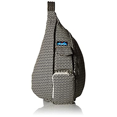KAVU Women's Rope Bag Backpack, Bw Motif, One Size