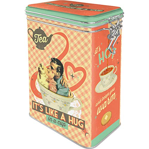 Nostalgic-Art 31110, Say it 50's, Tea It's Like A Hug in a Cup, Aromadose, Metall, 11 x 8 x 18 cm