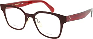 Eyeglasses Celine Cl 41456 0LHF Opal Burgundy