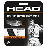 Head Synthetic Gut PPS Cordajes de Raquetas de Tenis, Unisex Adulto, Negro,...