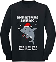 Tstars - Christmas Shark Do Do Do Cute Toddler/Kids Long Sleeve T-Shirt