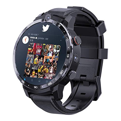 Smart Watch,Fitness Bracelet,Ip67 Waterproof,Breath Training Heart Rate Detection 4g Smart Watch Fitness Tracker Waterproof Heart Rate Monitor 64gb GPS Phone Call with Camera For Man Woman
