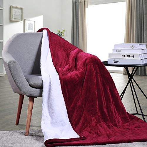 Electric Blanket Heated Throw Blanket Fast Heating Soft...
