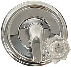 Danco 10003 Company 9D0010003 Universal Chrome Tub/Shower Trim Kit, Clear