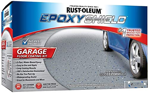 Rust-Oleum 251965 Garage Floor Kit, Gray