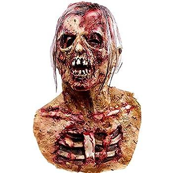 Waylike Scary Mask Halloween Mask Halloween Decorations Horror Monster Masks  red1