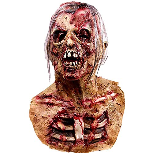 Waylike Scary Mask Halloween Mask Halloween Decorations Horror Monster Masks (red1)
