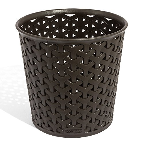 CURVER | Rangement Rond My Style L, Chocolat, Storage Others, 14,4x14,4x13,9 cm