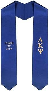 Custom Alpha Kappa Psi Embroidered Graduation Sash Stole