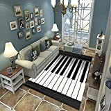 Carpet Rug Living Room Bedroom Carpet Children Crawling Modern 3D Printed Home Decor Non-Slip Soft Carpet F-535T 80X150Cm