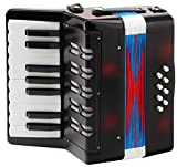 Classic Cantabile Bambino - Accordeon enfants, noir, 8 basses