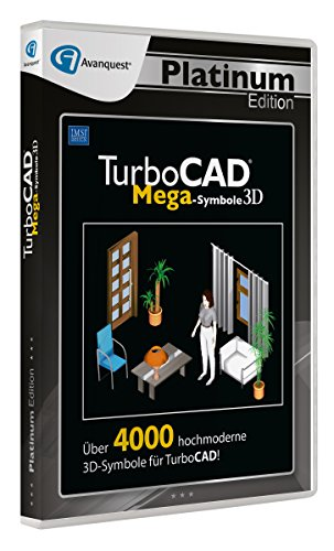 TurboCAD 3D Mega Symbole - Avanquest Platinum Edition