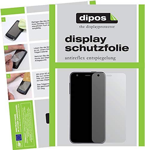 dipos I 2X Schutzfolie matt kompatibel mit LG G Pad III 3 8.0 Folie Bildschirmschutzfolie