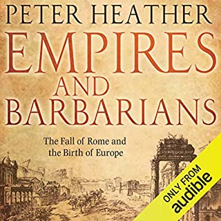 Empires and Barbarians  audiobook cover art
