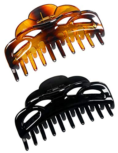 ACCGLORY Large Plastic Hair Clips for Women Thick Hair...