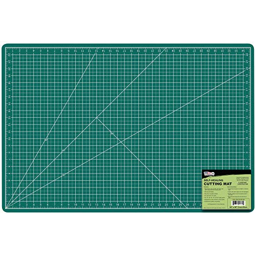 US Art Supply 24' x 36' GREEN/BLACK Professional Self Healing 5-Ply...
