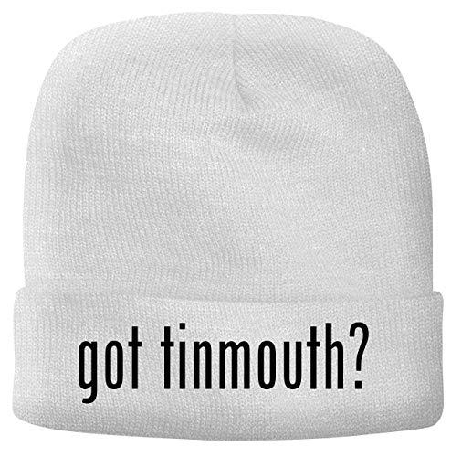 BH Cool Designs got Tinmouth? - Men's Soft & Comfortable Beanie Hat Cap, White, One Size