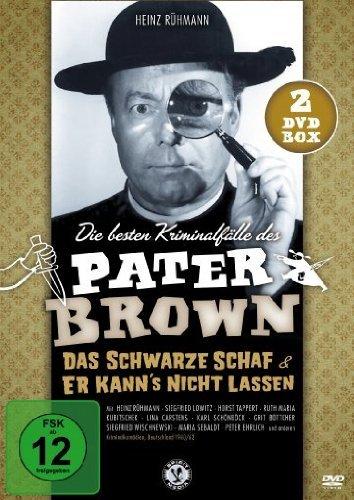 Pater Brown - Die besten Kriminalfälle: Das schwarze Schaf & Er kann´s nicht lassen [2 DVDs]