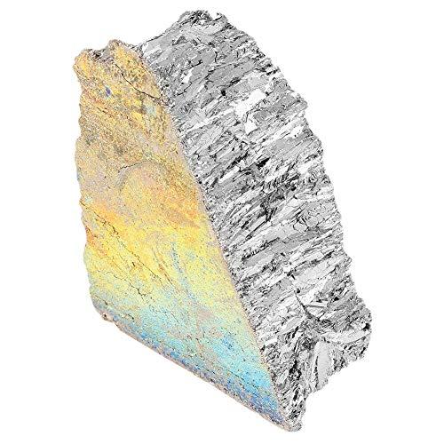 Kwoma 1 kg Bismuth Metal Lingot 99,99% Pure Crystal Fr Making Crystals/Fishing Lures