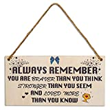 MENGY Birthday Gifts for Women Inspirational Gifts for Women Friends Gifts Thinking of You Gift Under 10 Dollars for Women Sister Daughter Inspirational Personalized Unique Gifts for Women Sign