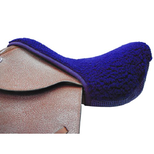 Intrepid International Non-Slip Fleece Seat Saver, Blue