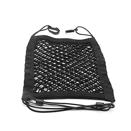 30 × 25 cm del asiento delantero del asiento del asiento del automóvil, bolsa de almacenamiento de la bolsa de almacenamiento de doble capa, bolso de almacenamiento de gancho de toalla de papel, silla